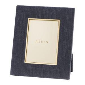 """AERIN - Valentina Velvet Frame - Dusk Blue - 4x6"""""""