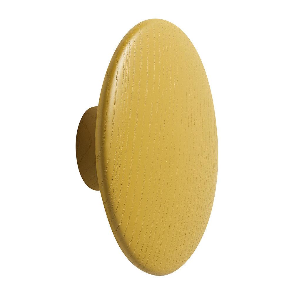 Muuto - The Dots Coat Hook - Mustard - Large