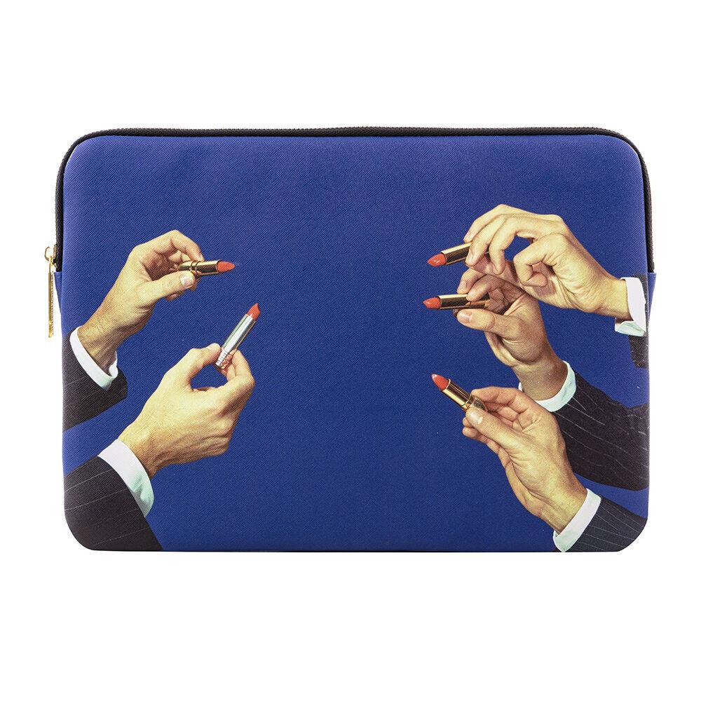 Seletti - Printed Laptop Bag - Lipsticks