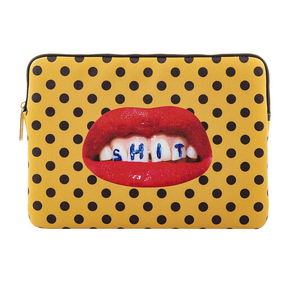 Seletti - Printed Laptop Bag - Sh*t