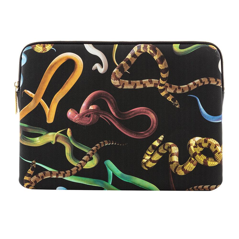 Seletti - Printed Laptop Bag - Snakes