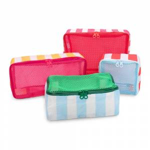 ban.do - Getaway Packing Cube - Set of 4 - Swim Club Stripe