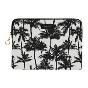 PODEVACHE - Palm Trees iPad Case - Black/White