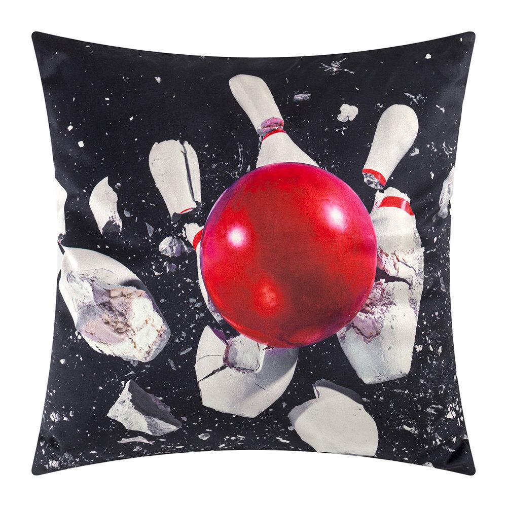 Seletti wears Toiletpaper - Toiletpaper Cushion Cover - 50x50cm - Bowling