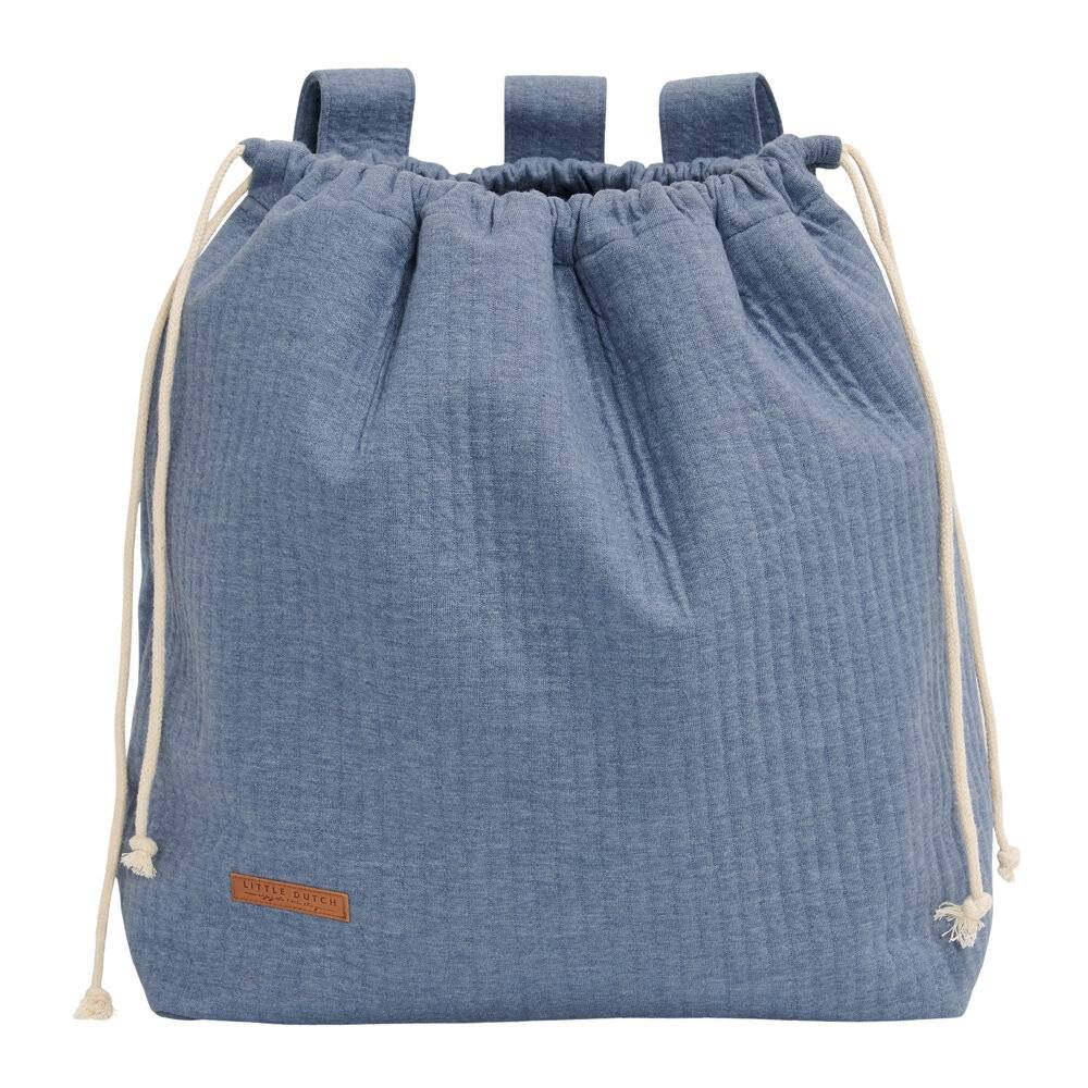 Little Dutch - Toy Bag - Pure Blue