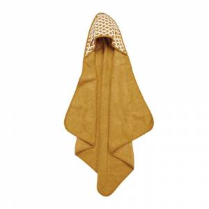 Little Dutch - Hooded Towel - Sunrise Ochre