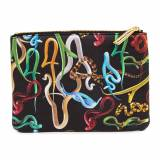 Seletti wears Toiletpaper - Small Cosmetics Bag - Snakes