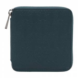 Liberty London - Petrol Embossed Wallet - Small