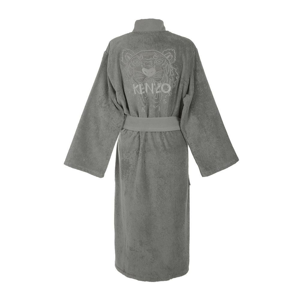 Kenzo - Iconic Bathrobe - Grey - XL
