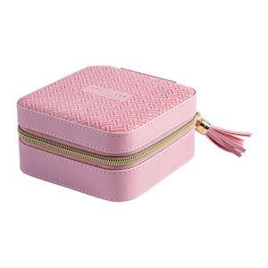 Ted Baker - Zipped Jewellery Case - Dusky Pink T