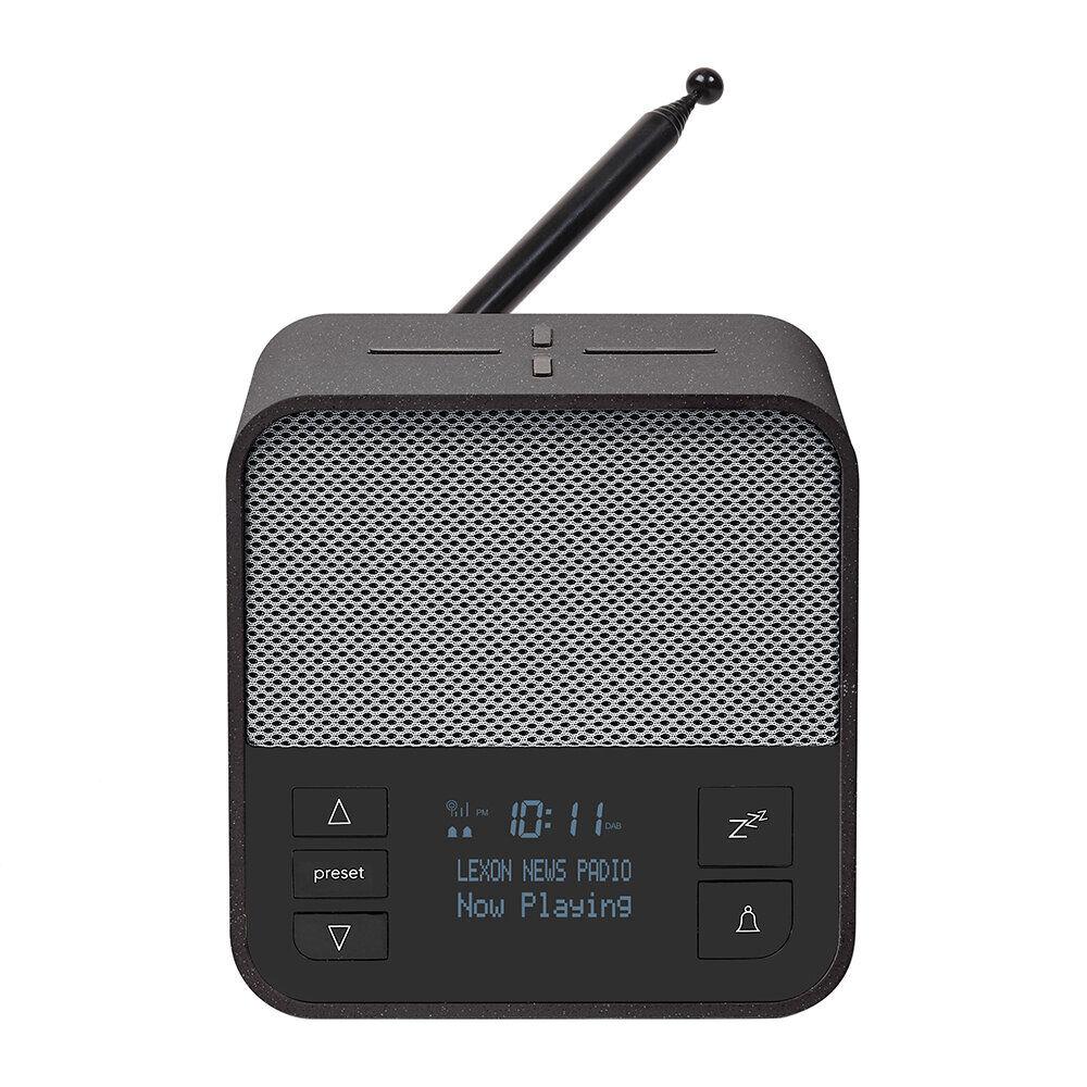 Lexon - Oslo News Radio - Dark Grey/Grey
