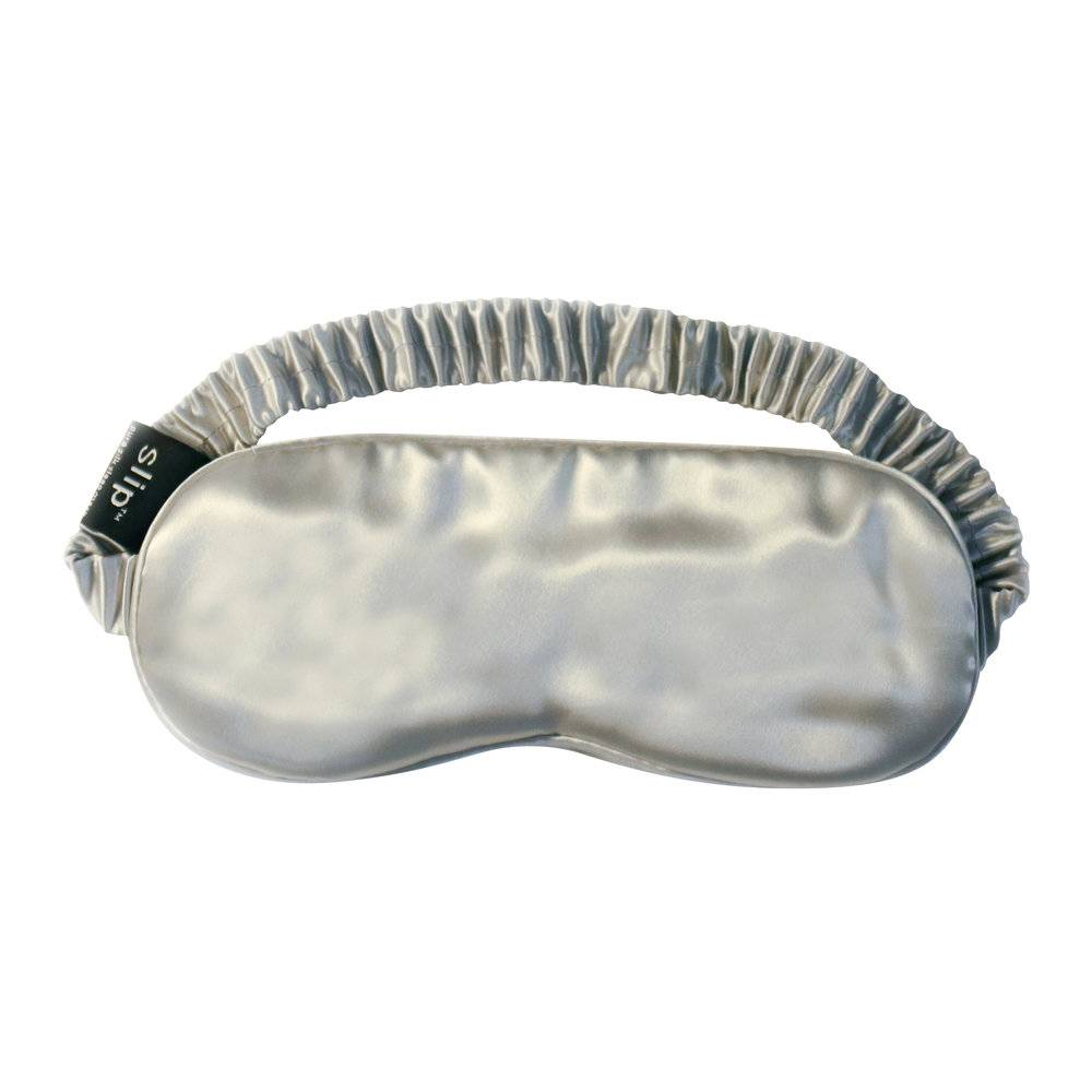 Slip - Pure Silk Eye Mask - Silver