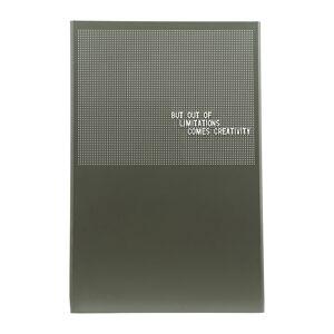 Monograph - Steel Grid Noticeboard - Green