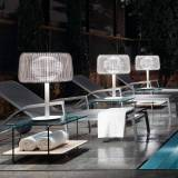 Bover - Fora Rattan Table Lamp - Beige