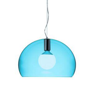 Kartell - Mini FL/Y Ceiling Light - Petrol Blue