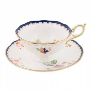 Wedgwood - Wonderlust Teacup & Saucer - Jasmine Bloom