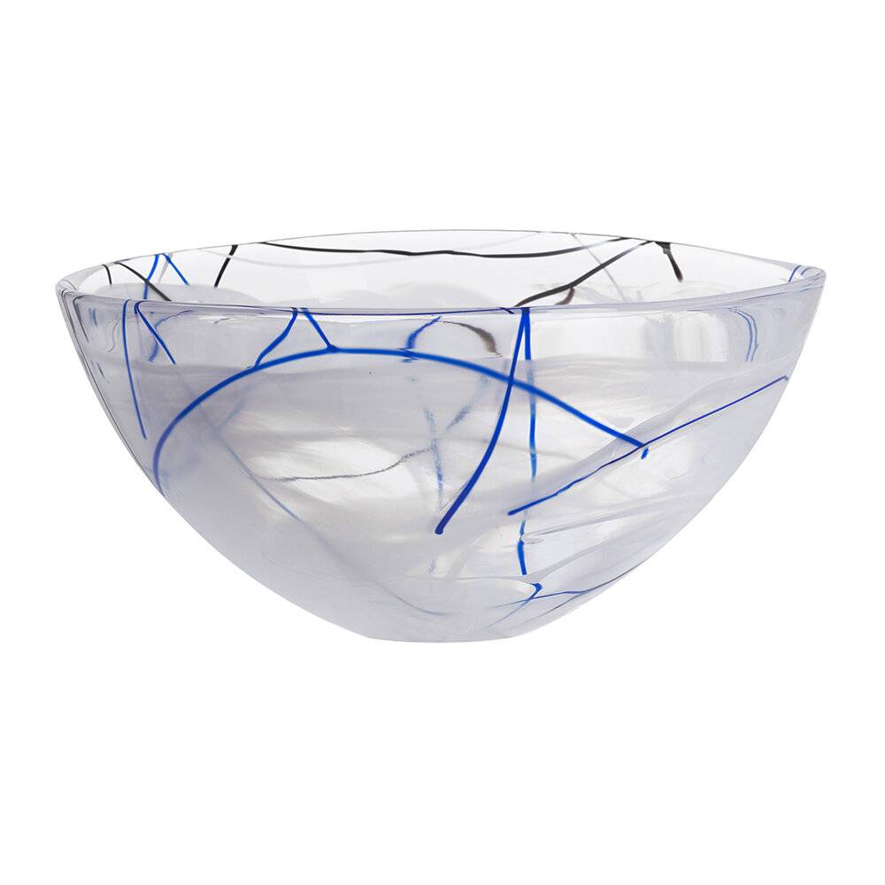 Kosta Boda - Contrast Bowl - Large - White