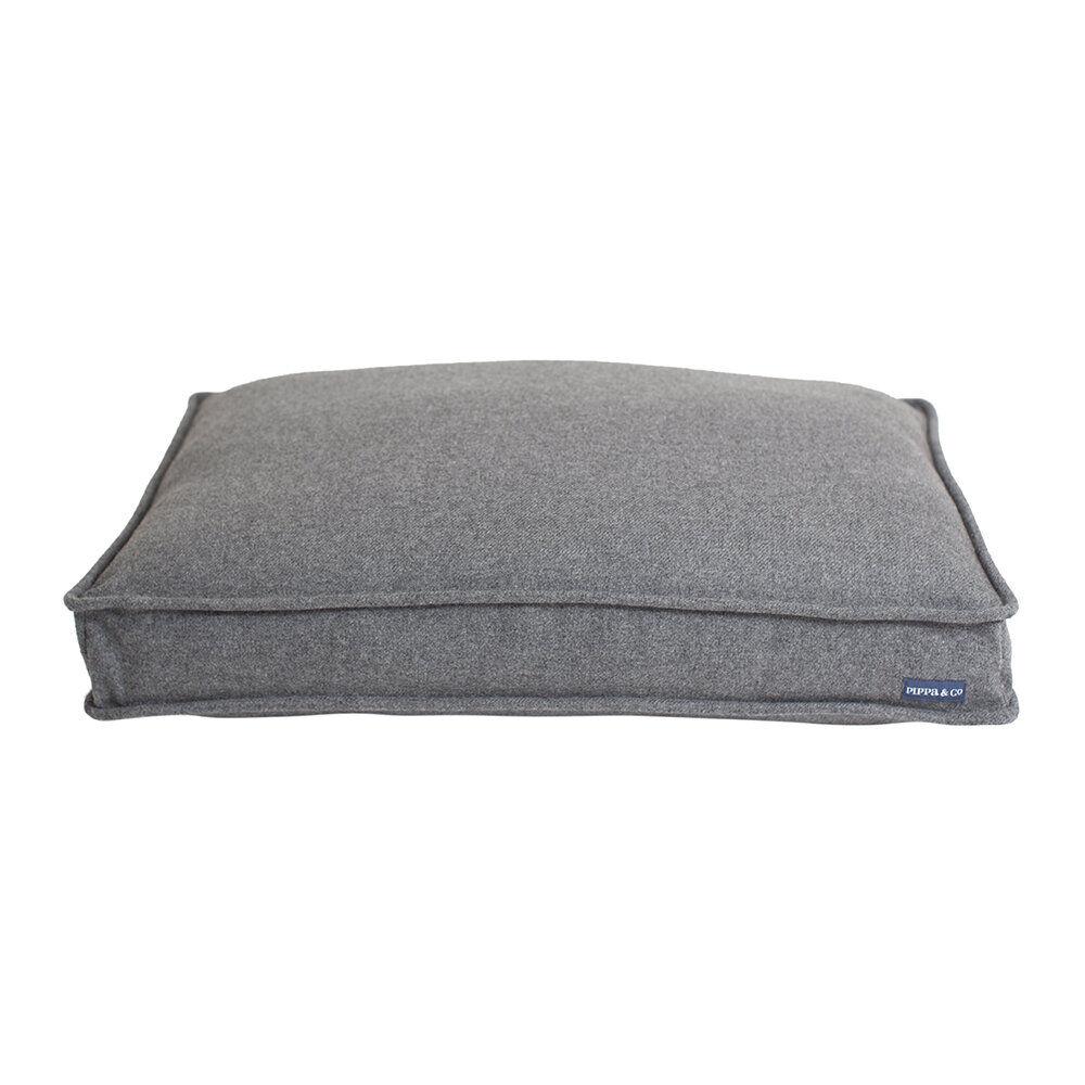 Pippa & Co - Mattress Dog Bed - Light Grey - Medium