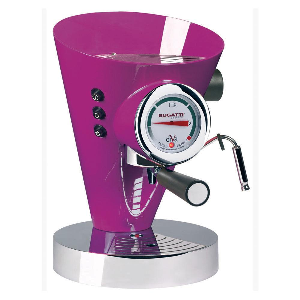 Casa Bugatti - Diva Coffee Machine - Lilac
