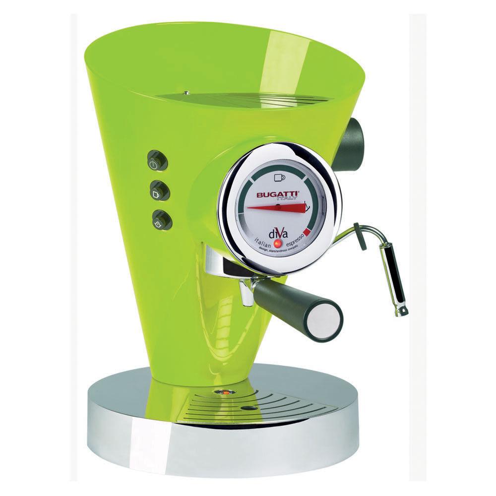 Casa Bugatti - Diva Coffee Machine - Green