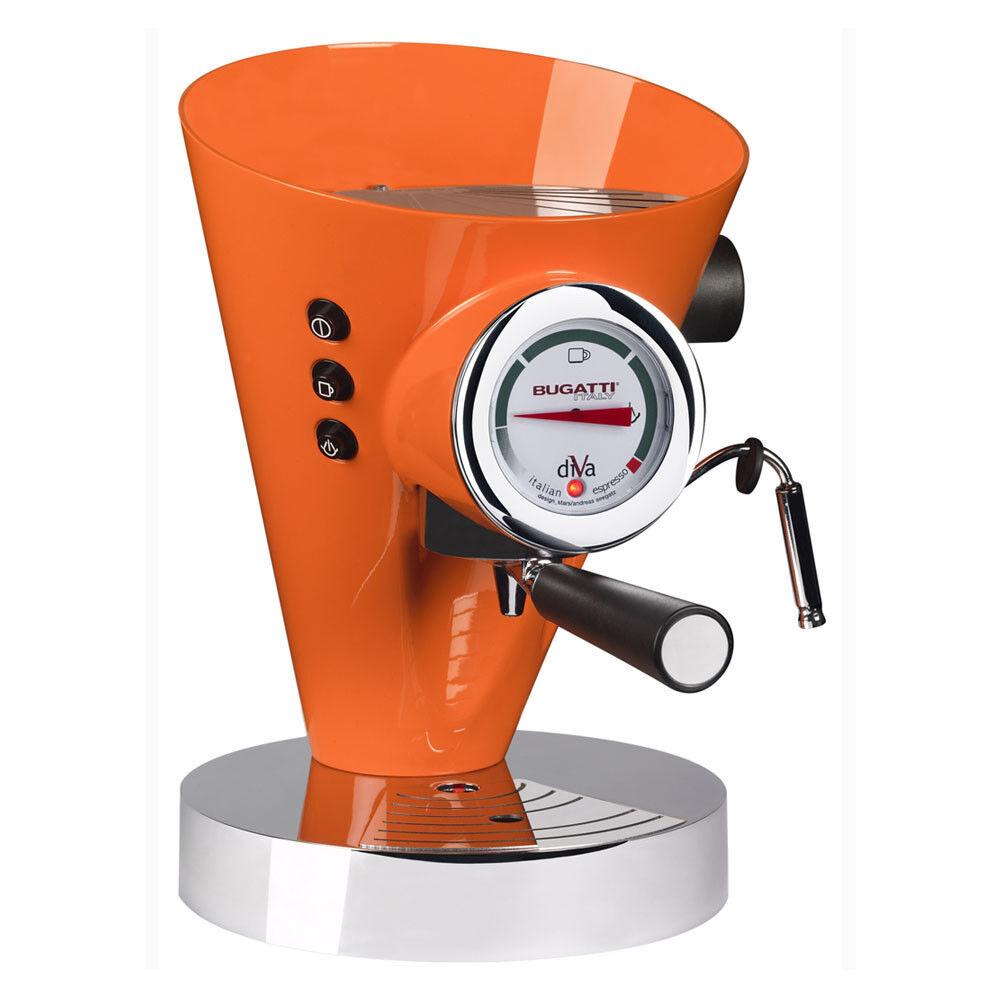 Casa Bugatti - Diva Coffee Machine - Orange