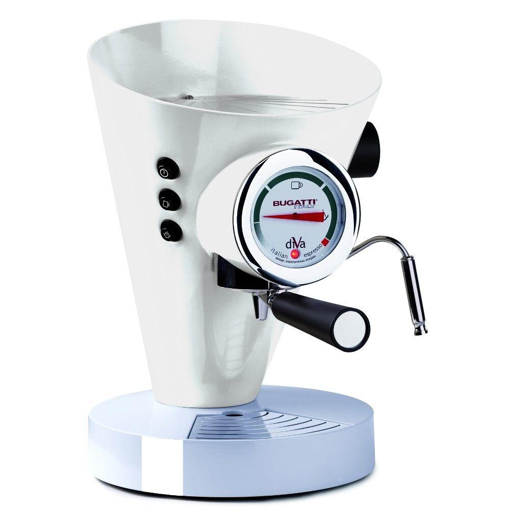 Casa Bugatti - Diva Coffee Machine - White