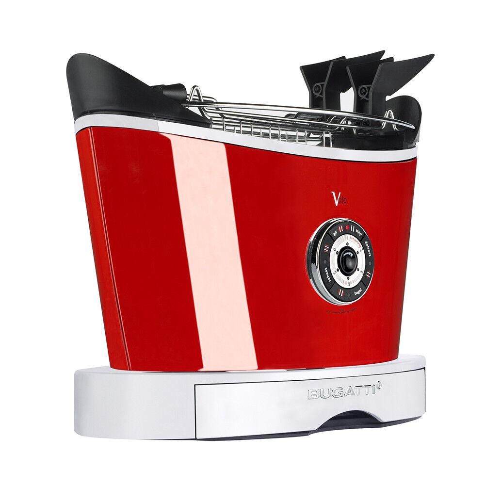 Casa Bugatti - Volo Toaster - Red