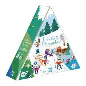 Londji - Let's Go To The Mountain Reversible Puzzle