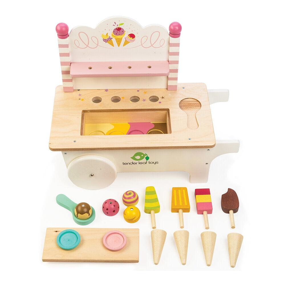 Tender Leaf Toys - Kids Ice Cream Cart