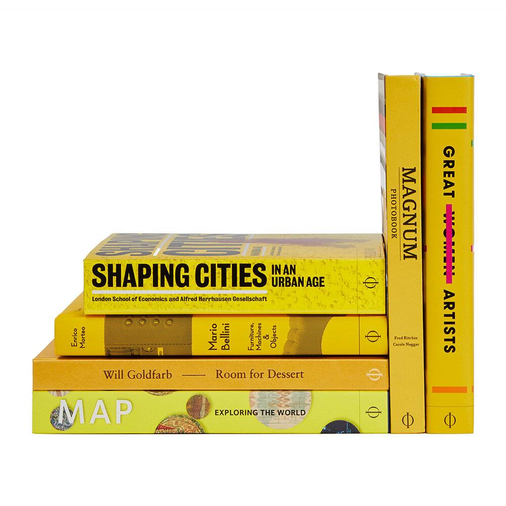 Phaidon - The Yellow Collection Books