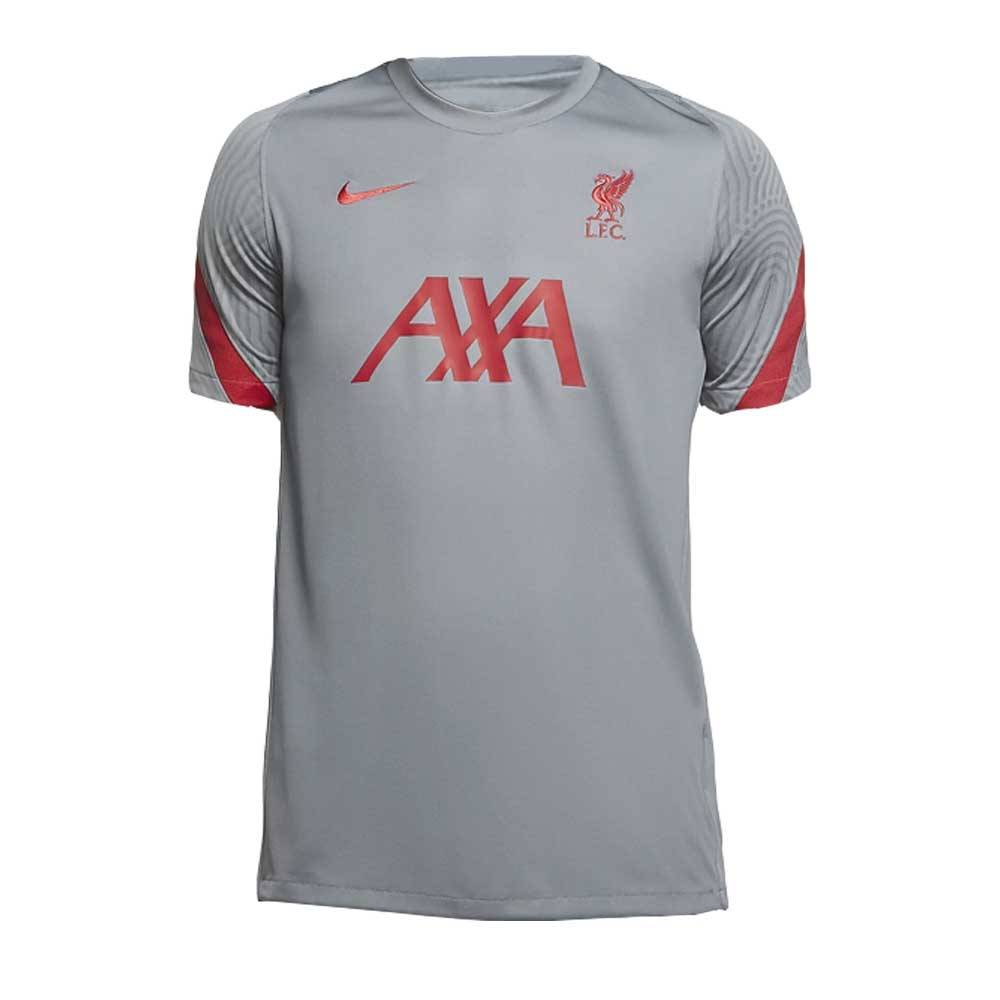 "Nike 2020-2021 Liverpool Training Shirt (Grey) - Grey - male - Size: Large 42-44\"" Chest (104-112cm)"