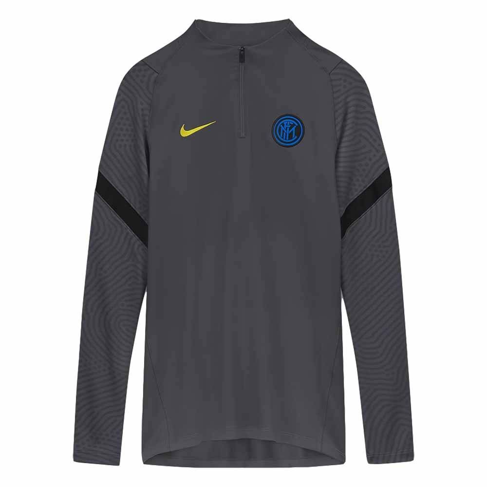 """Nike 2020-2021 Inter Milan CL Drill Top (Grey) - Grey - male - Size: Small 34-36\"""" Chest (88/96cm)"""