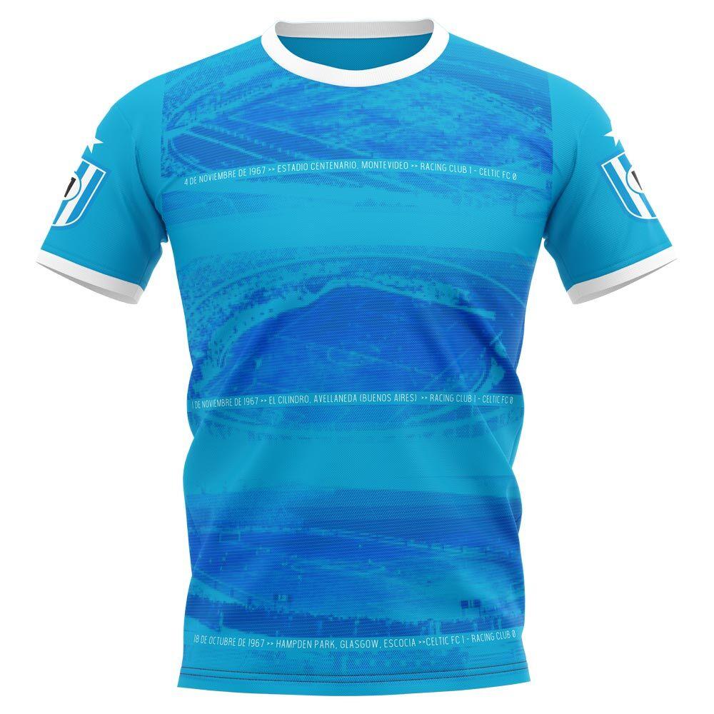 Airo Sportswear 2020-2021 Racing Club Stadium Concept Football Shirt - Womens - Blue - female - Size: Large - UK Size 14