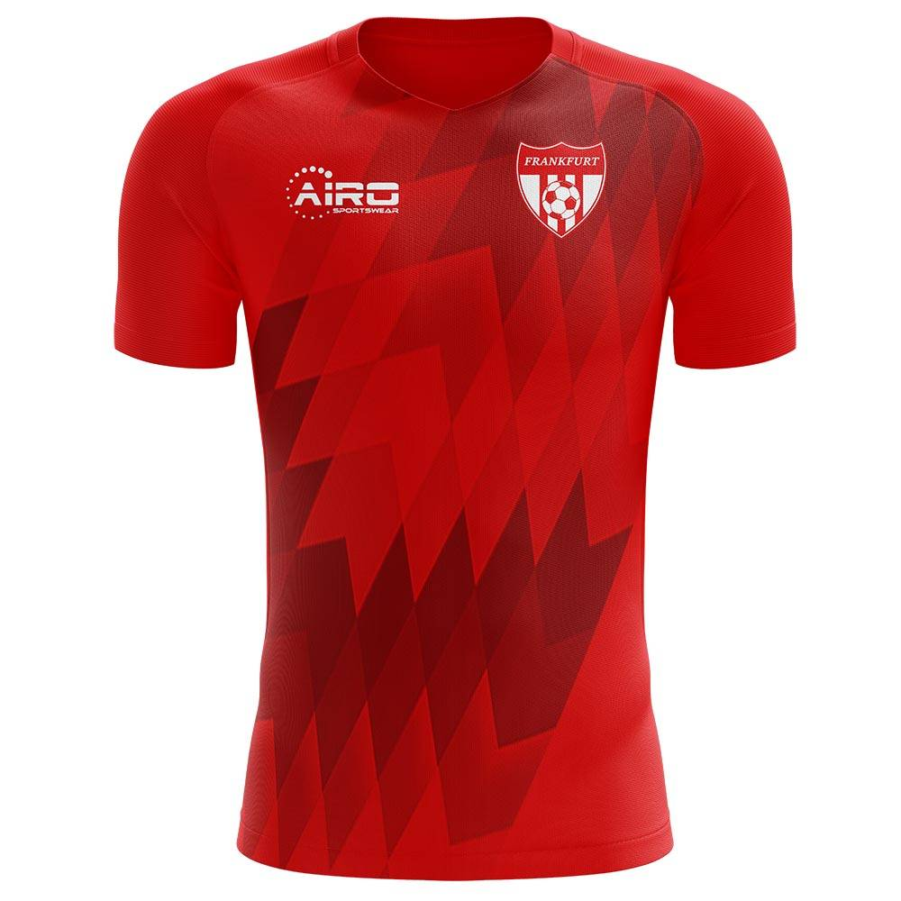 Airo Sportswear 2020-2021 Frankfurt Concept Training Shirt (Red) - Womens - Red - female - Size: Large - UK Size 14