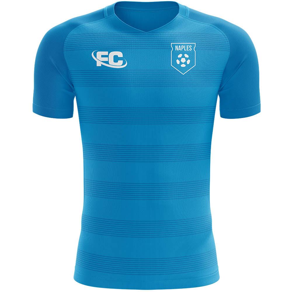 Airo Sportswear 2020-2021 Naples Concept Training Shirt (Blue) - Womens - Blue - female - Size: XS - UK Size 6/8
