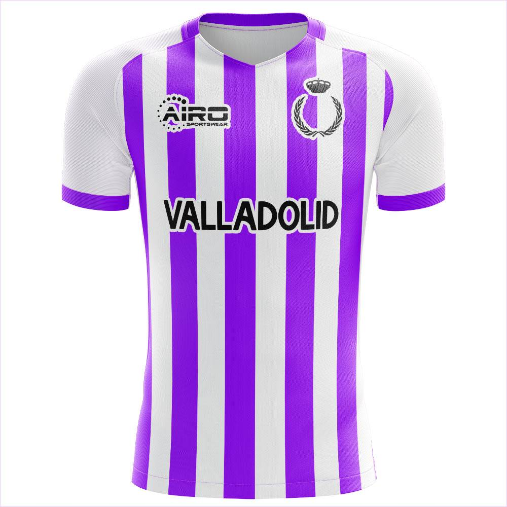 Airo Sportswear 2020-2021 Real Valladolid Third Concept Football Shirt - Womens - Purple - female - Size: XL - UK Size 16