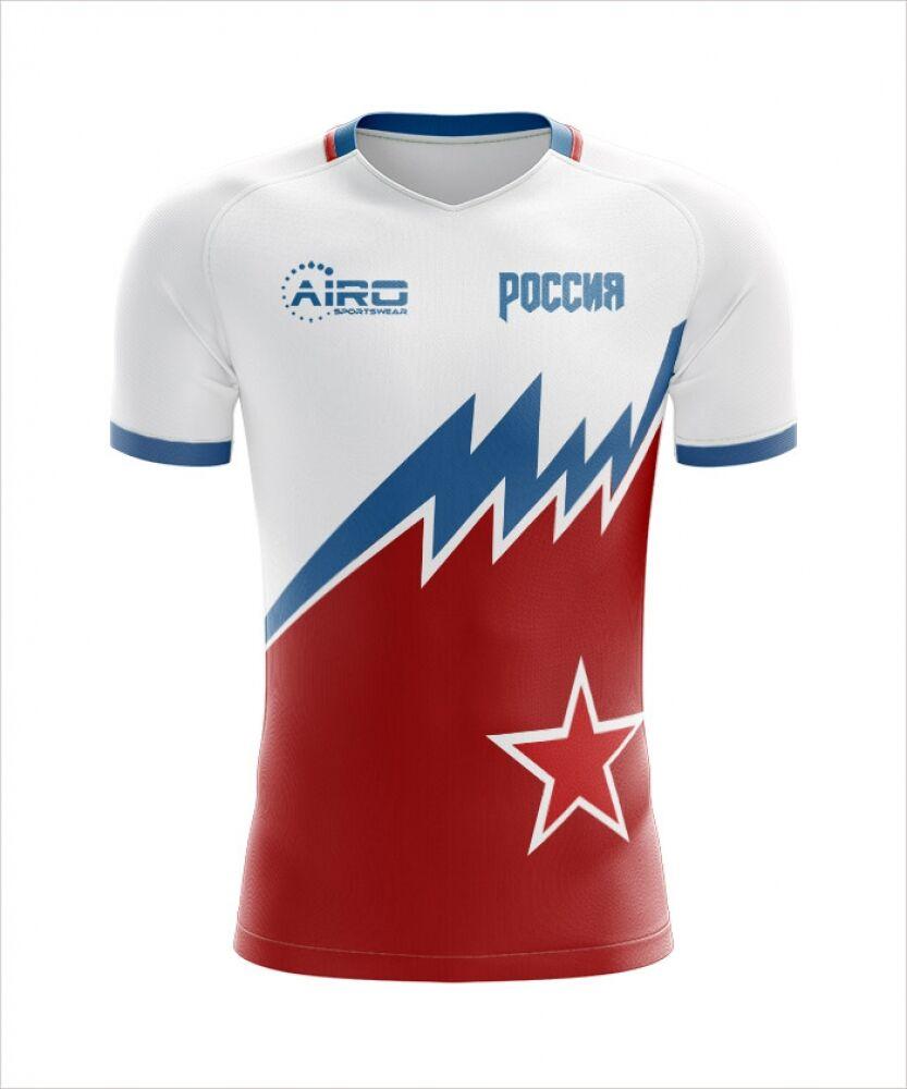 Airo Sportswear 2020-2021 Russia Away Concept Football Shirt - Womens - White - female - Size: XS - UK Size 6/8