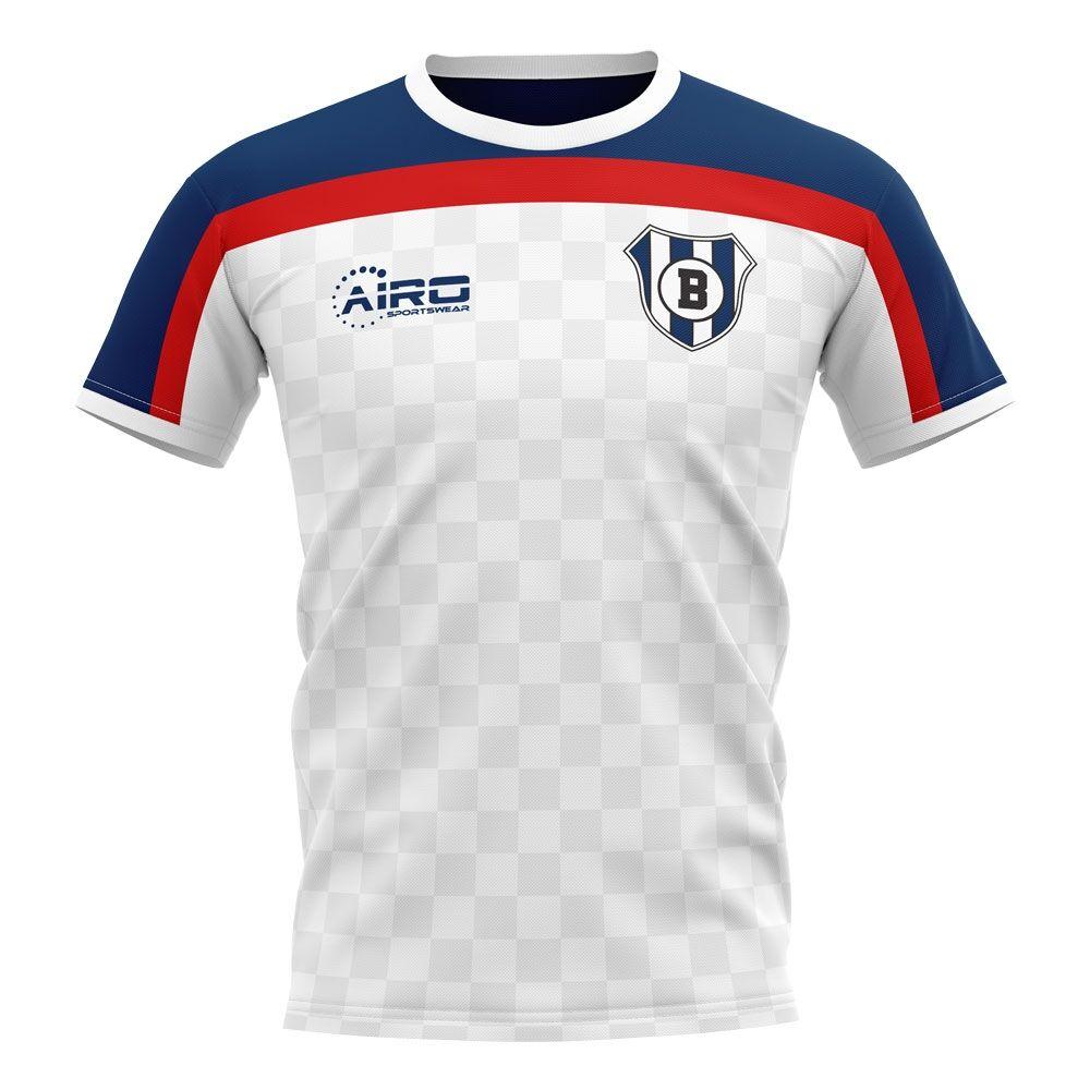 Airo Sportswear 2020-2021 Bolton Home Concept Football Shirt - Womens - White - female - Size: XL - UK Size 16