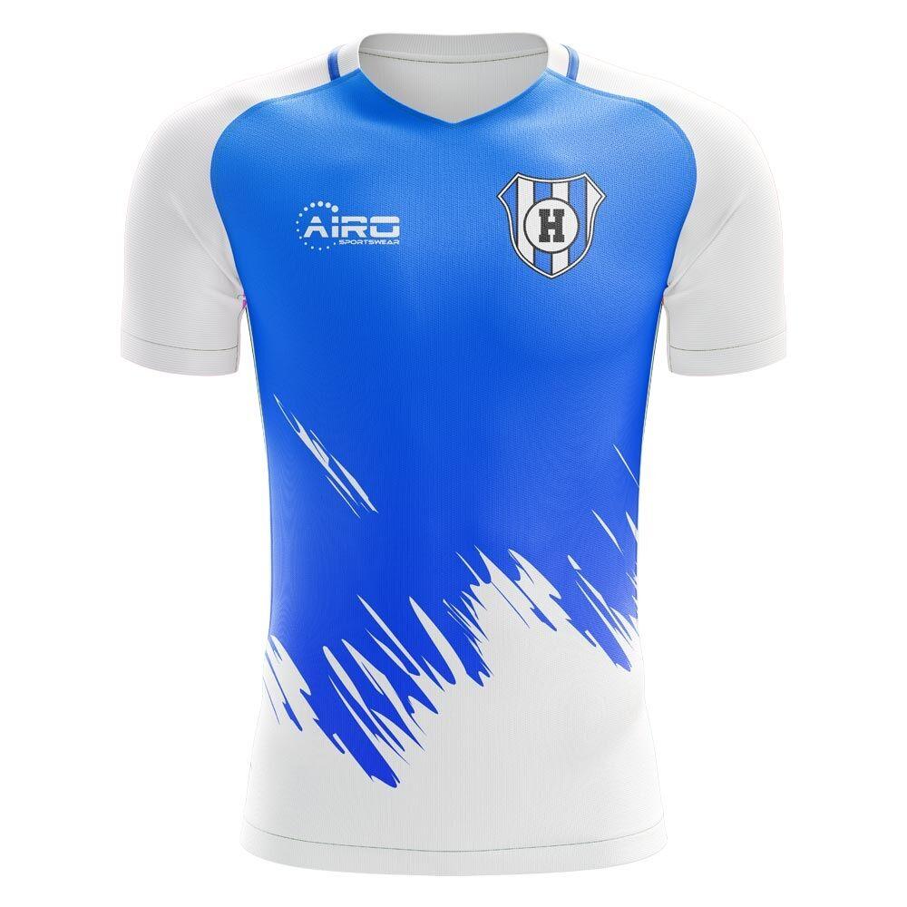Airo Sportswear 2020-2021 Huddersfield Third Concept Football Shirt - Womens - Blue - female - Size: Large - UK Size 14
