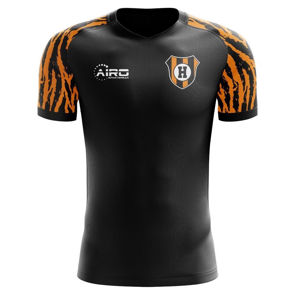 Airo Sportswear 2020-2021 Hull Away Concept Football Shirt - Womens - Blue - female - Size: Large - UK Size 14
