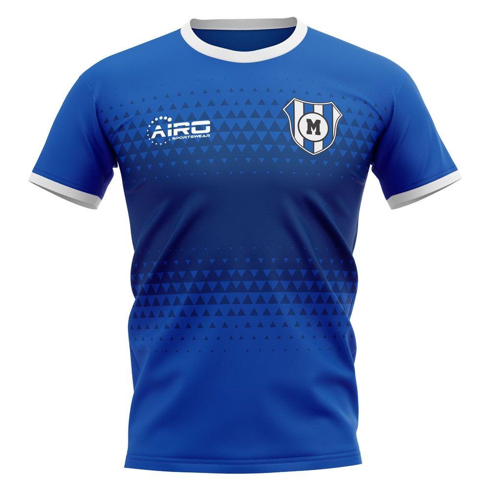 Airo Sportswear 2020-2021 Millwall Home Concept Football Shirt - Womens - White - female - Size: Large - UK Size 14