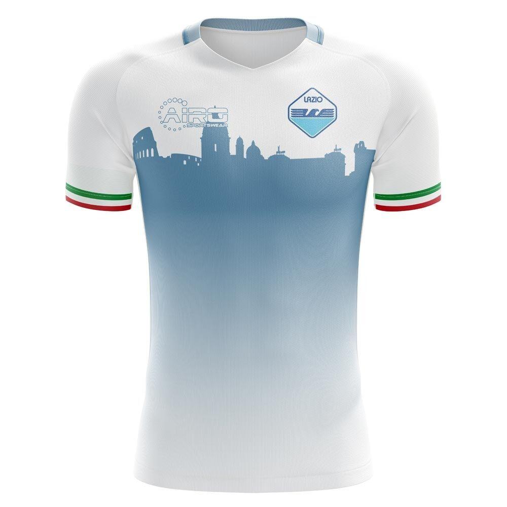Airo Sportswear 2020-2021 Lazio Home Concept Football Shirt - Womens - White - female - Size: Small - UK Size 10