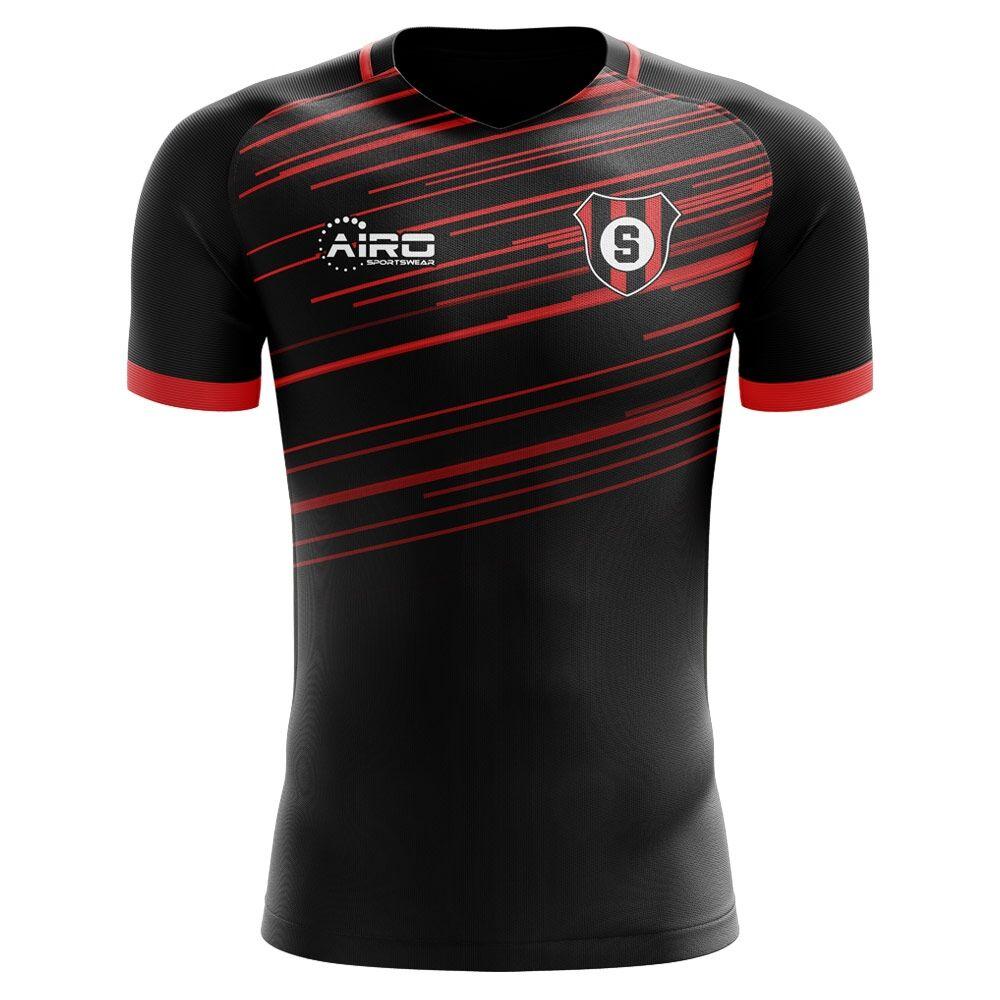 Airo Sportswear 2020-2021 Sheffield United Away Concept Football Shirt - Womens - Black - female - Size: XXL - UK Size 18