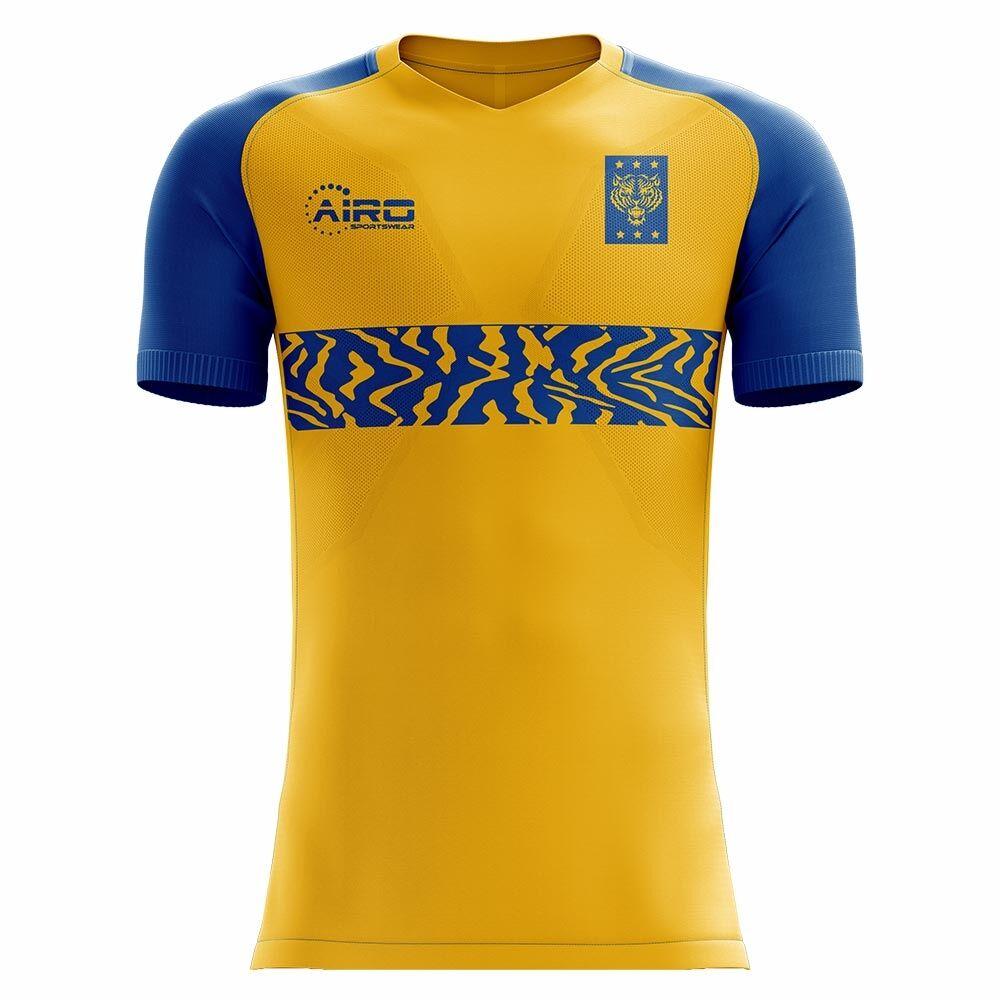 Airo Sportswear 2020-2021 Tigres Home Concept Football Shirt - Womens - Blue - female - Size: XXL - UK Size 18