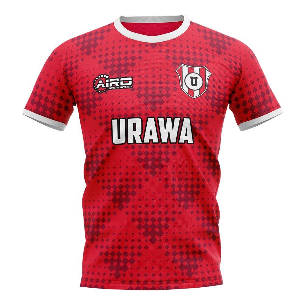 Airo Sportswear 2020-2021 Urawa Red Diamonds Home Concept Football Shirt - Womens - Blue - female - Size: XS - UK Size 6/8