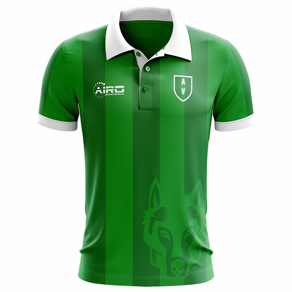 Airo Sportswear 2020-2021 Avellino Home Concept Football Shirt - Womens - Red - female - Size: Large - UK Size 14