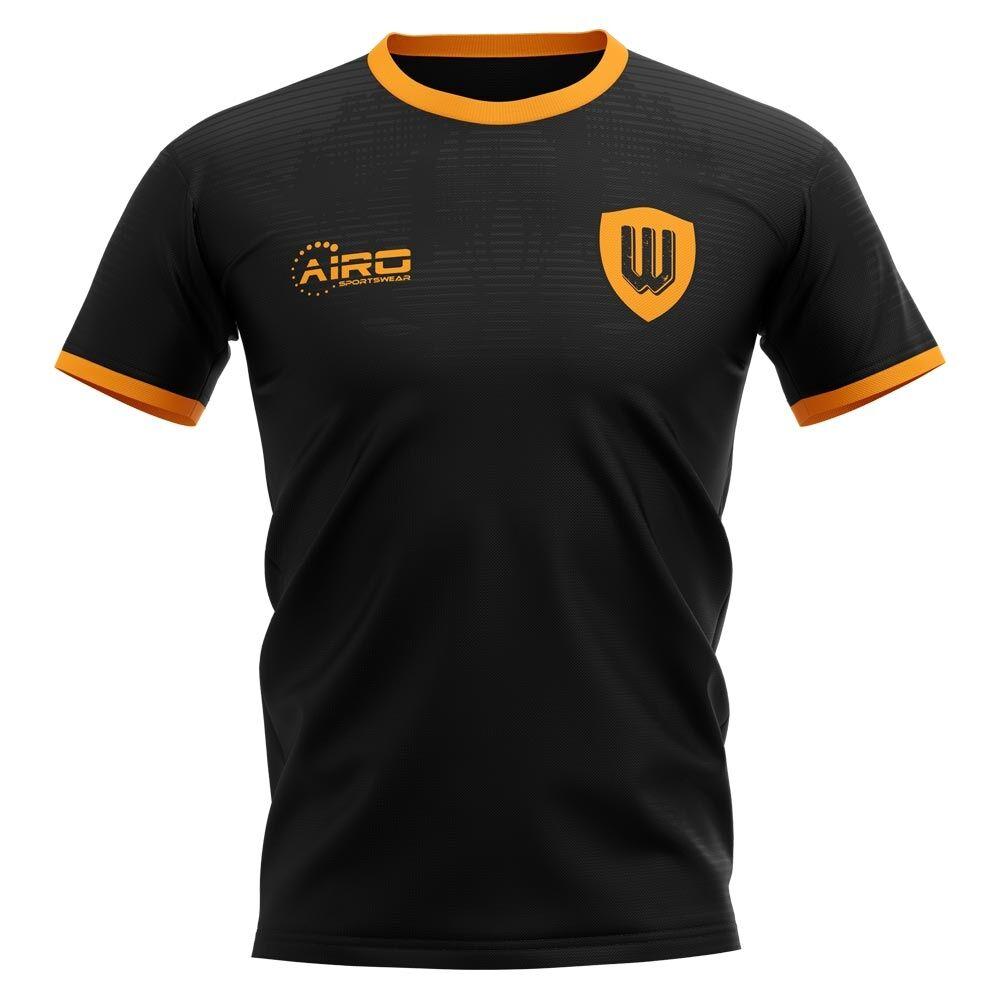 Airo Sportswear 2020-2021 Wolverhampton Away Concept Football Shirt - Womens - Orange - female - Size: XL - UK Size 16