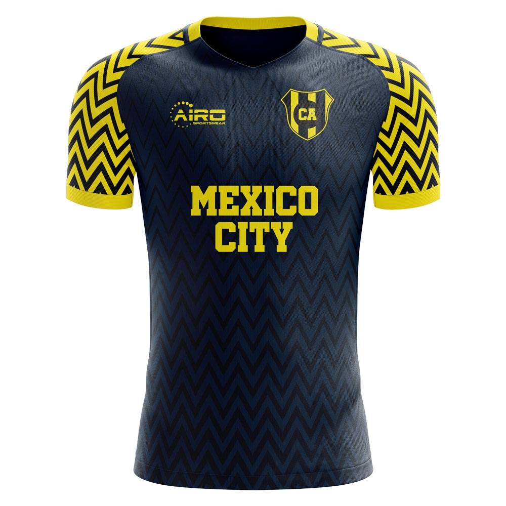 Airo Sportswear 2020-2021 Club America Away Concept Football Shirt - Womens - Black - female - Size: XS - UK Size 6/8