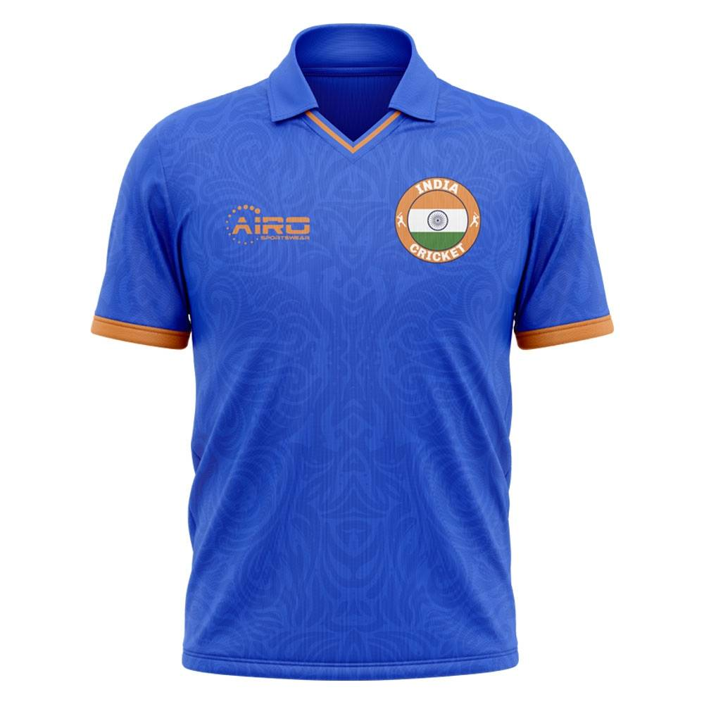 Airo Sportswear 2020-2021 India Cricket Concept Shirt - Womens - White - female - Size: XL - UK Size 16