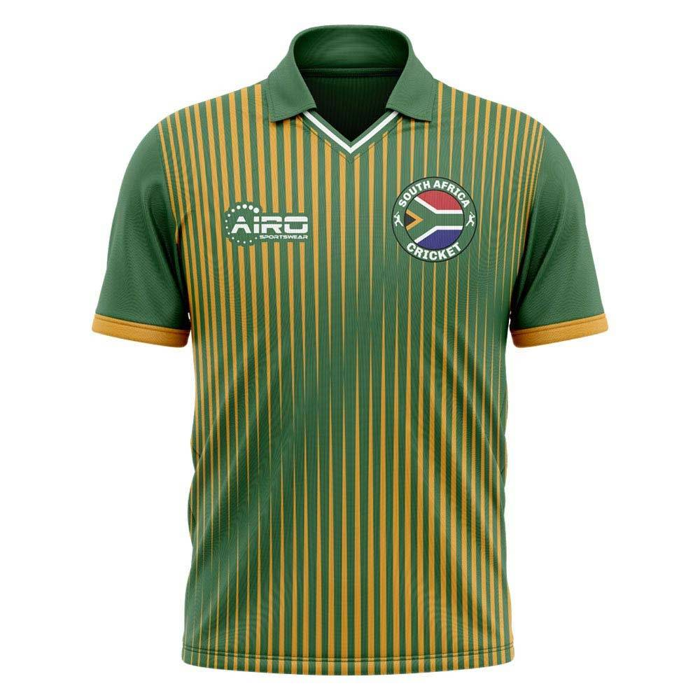 Airo Sportswear 2020-2021 South Africa Cricket Concept Shirt - Womens - Green - female - Size: Large - UK Size 14